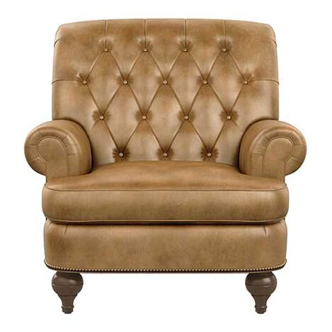 Shawe Leather Chair Product Tile Image 727512