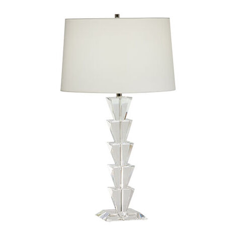 Palm Crystal Table Lamp ,  , large
