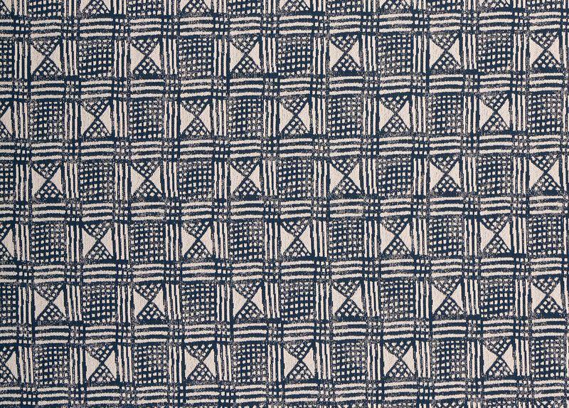Barker Navy Fabric