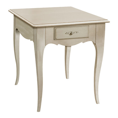 Claude End Table, French Gray ,  , large