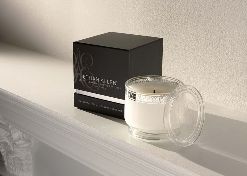 Sparkling Citrus Small Candle