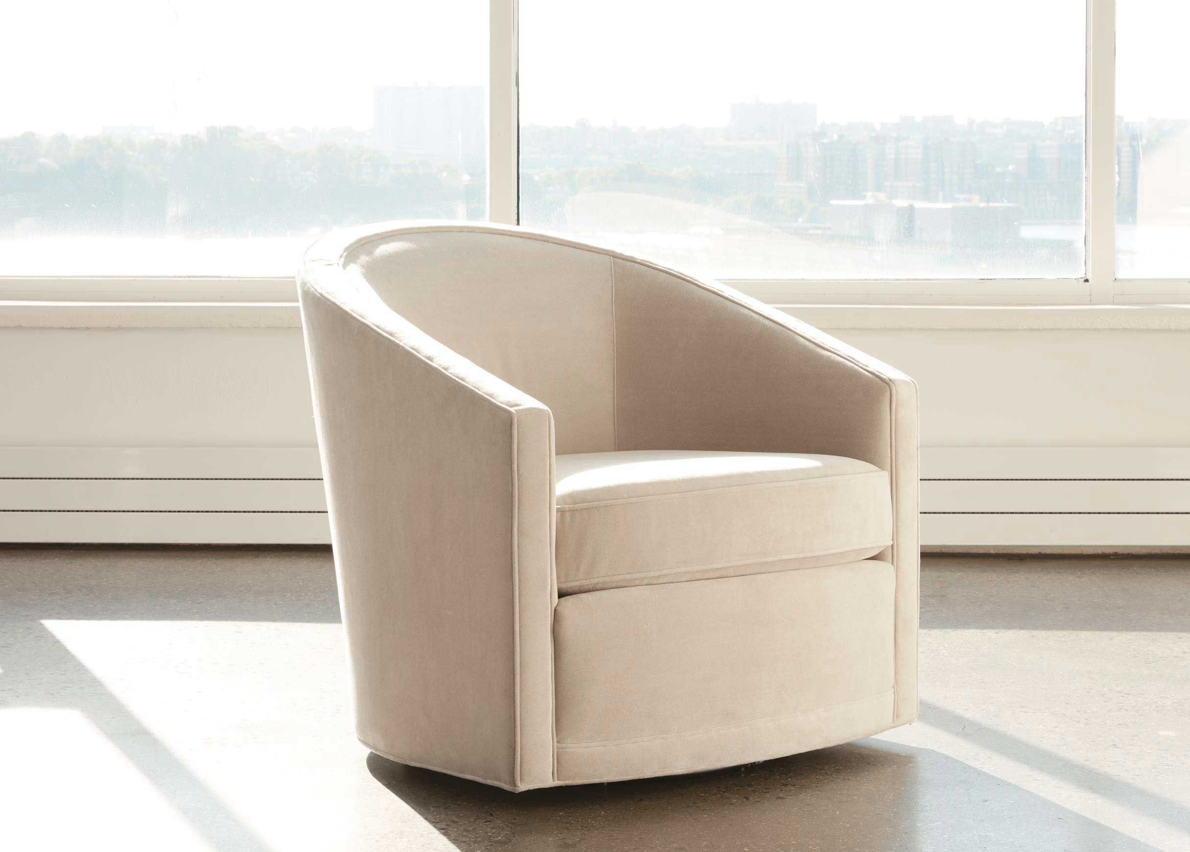 Beau Baylee Barrel Back Swivel Chair, Quick Ship_2