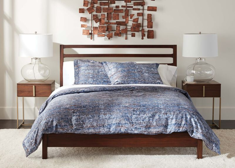 Scopello Printed Duvet Cover and Shams