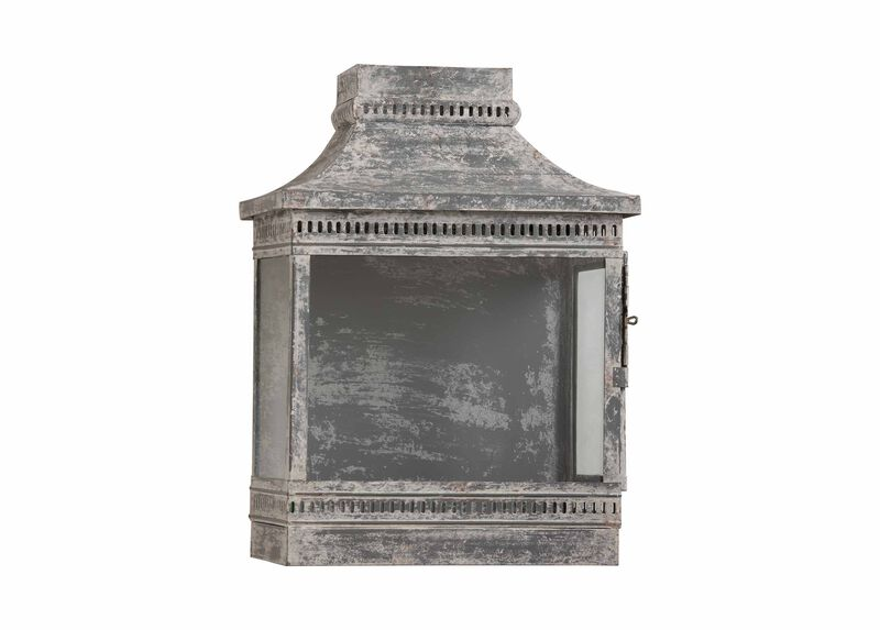 Galvanized Wash Wall Lantern