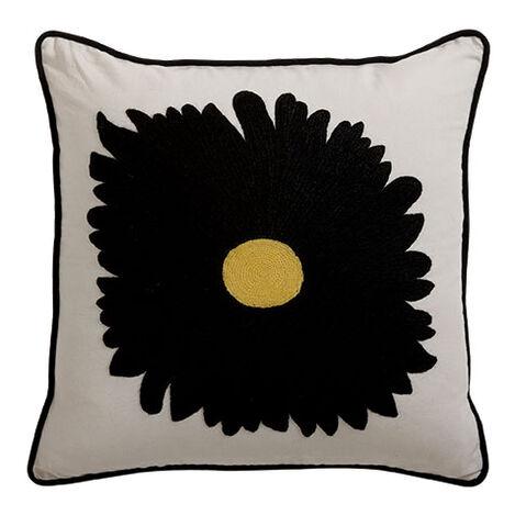 Gerbera Daisy Crewel Pillow ,  , large