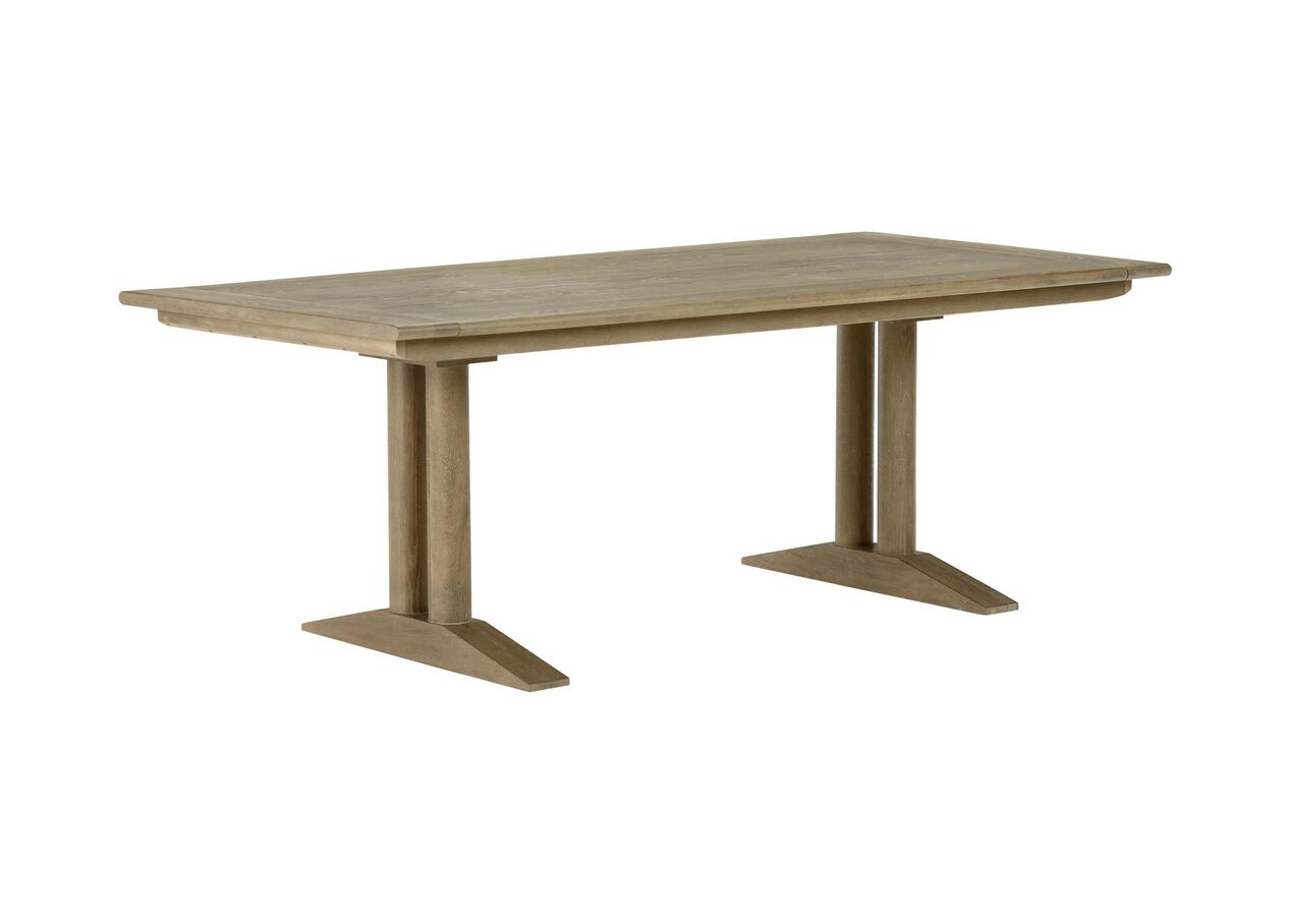 Sayer dining table dining tables ethan allen for Shopping for dining tables
