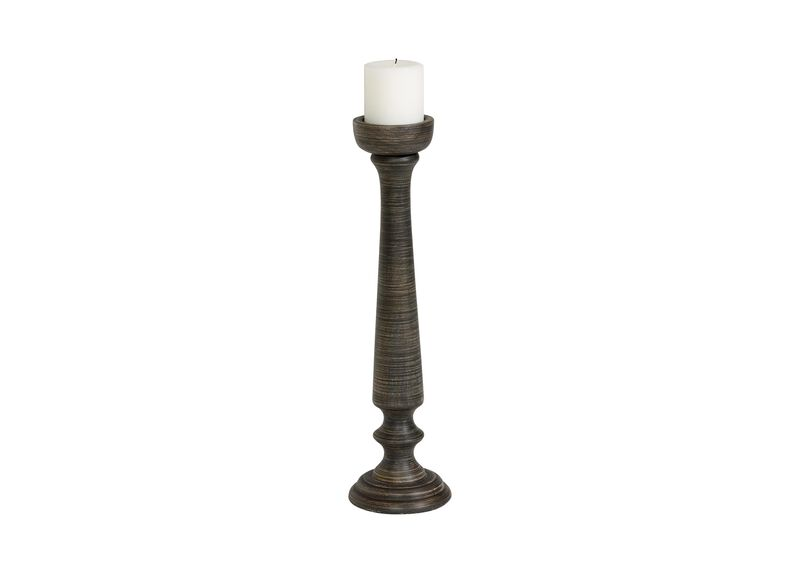 Medium Demira Black Candlestick ,  , large_gray