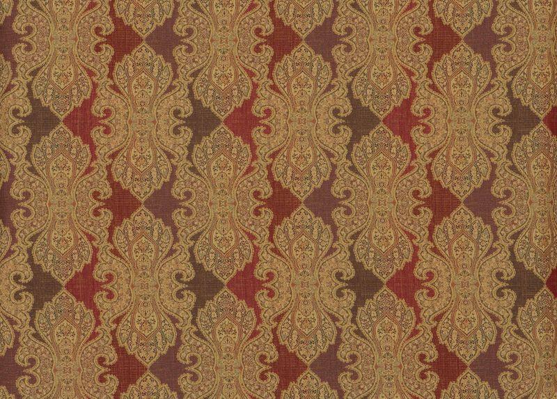 Kenzie Paprika Fabric