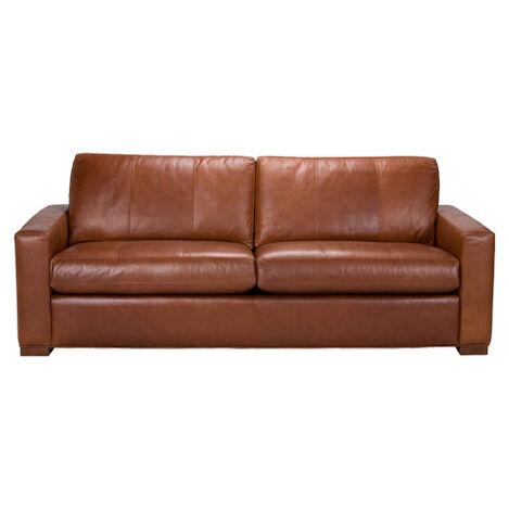 Hudson Leather Sofa ,  , large