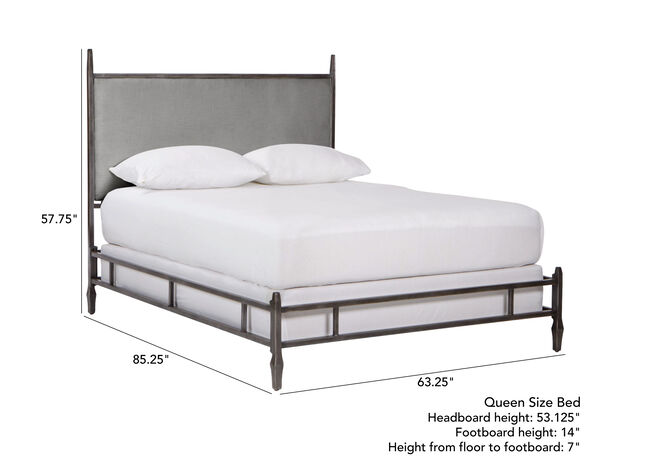 best cheap 8b744 b56ef Lincoln Upholstered Bed | Beds | Ethan Allen