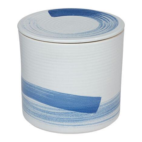 Blue and White Lidded Tea Jars Product Tile Image 432090