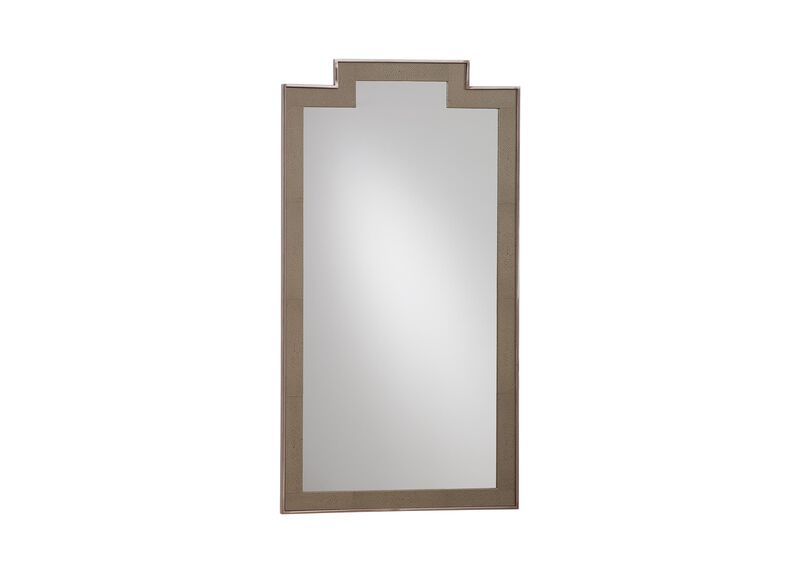 Empire Decorative Leather Mirror