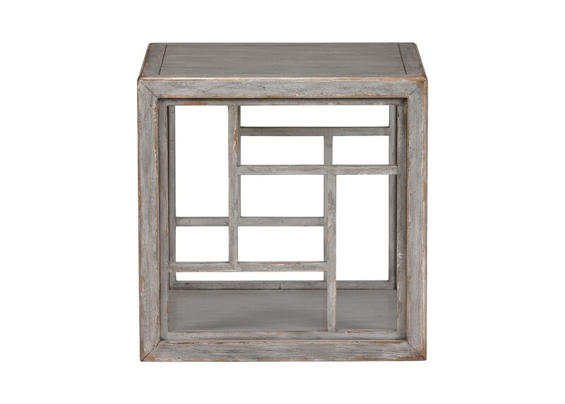 Dynasty Fretwork Side Table