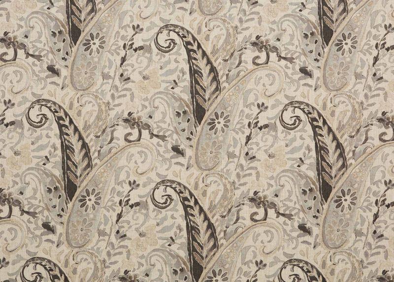 Nabry Charcoal Fabric
