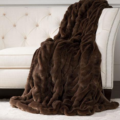 Faux Fur Mink Throw Product Tile Image 031856