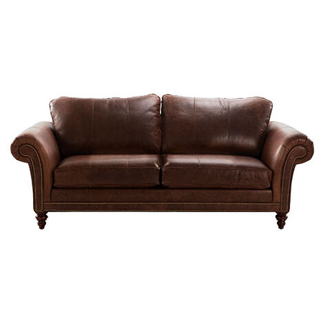 Savoy Grand Leather Sofa, Cassidy Brasil ,  , large