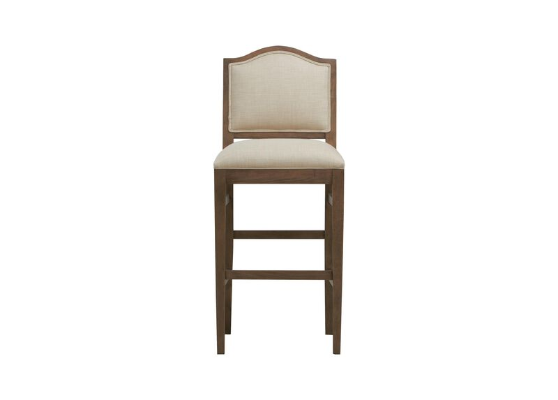 Hayden Barstool Arched Top And Tapered Leg Bar