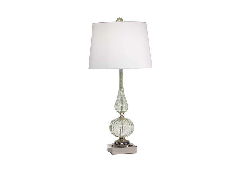 Seafoam Glass Table Lamp ,  , large_gray