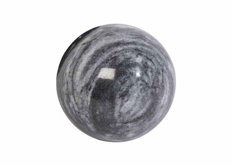 Black Stone Ball ,  , large_gray