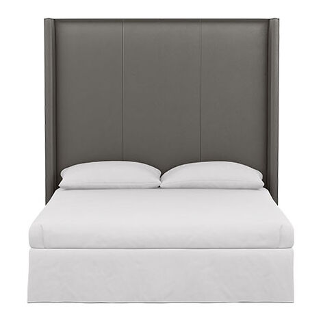 Colton Leather Tall Headboard Product Tile Image 72232HDB