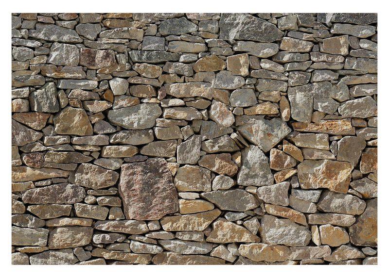 Stone Wall Mural