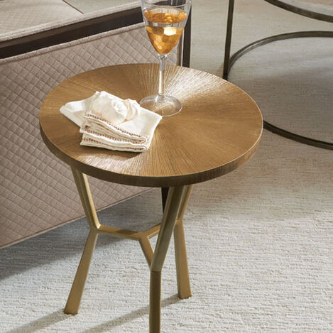 Tasha Aluminum Accent Table Product Tile Hover Image 421840