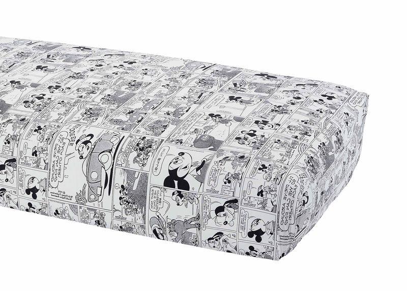 Comic Strip Crib Sheet, Mickey's Ears