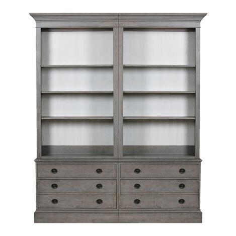 bookcase baby meadowdale dp vintage westwood com bookcases hutch design amazon