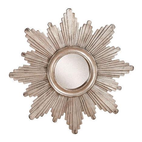 "26"" Silver Sunburst Mirror Product Tile Image 074079B"