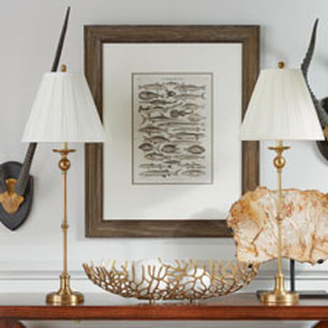 Scarsdale Brass Buffet Lamp ,  , hover_image