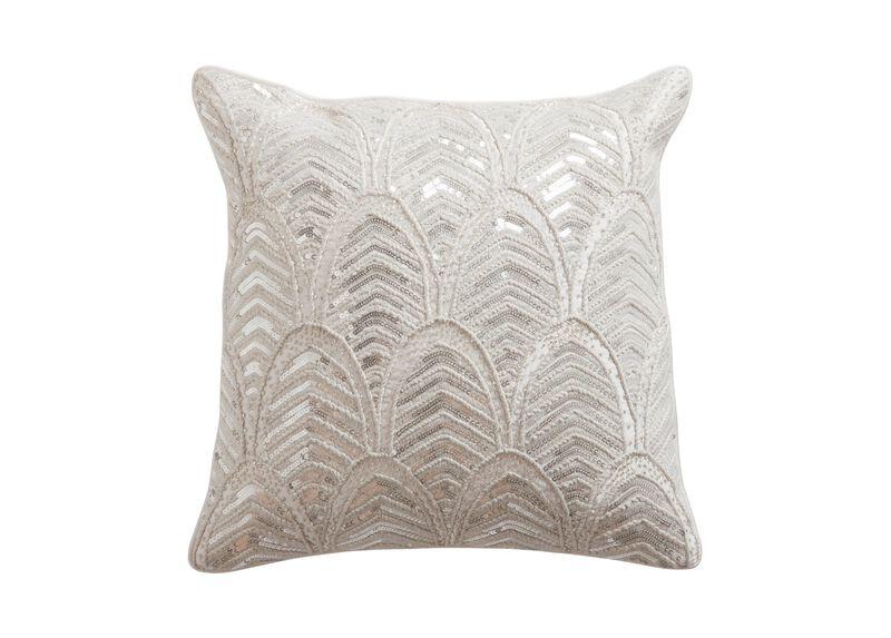 Art Deco Beaded Pillow