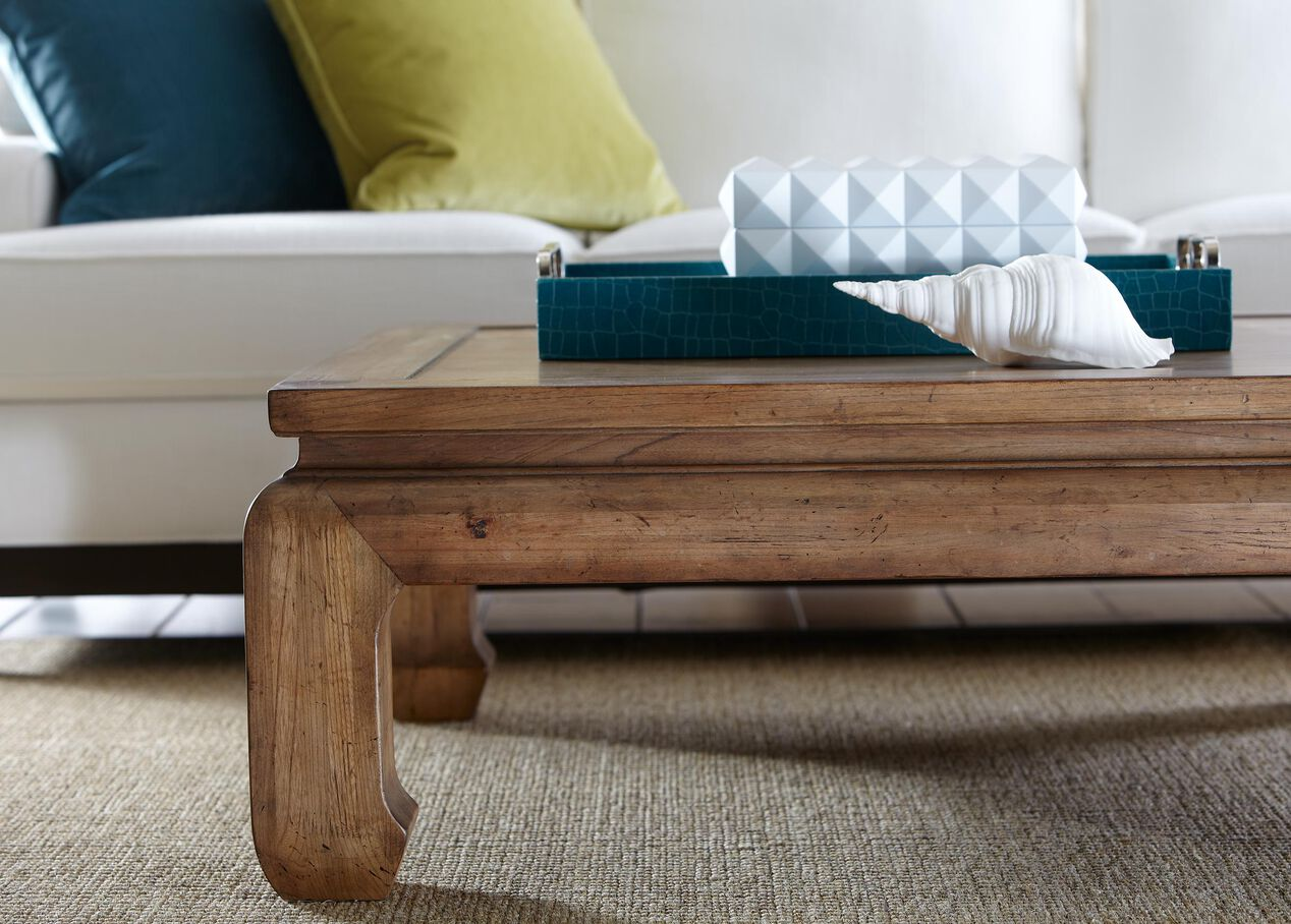 Dynasty Square Coffee Table Tables Ethan Allen