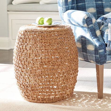 Heather Woven Stool Product Tile Hover Image 420510