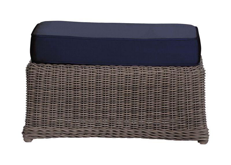 Willow Bay Ottoman