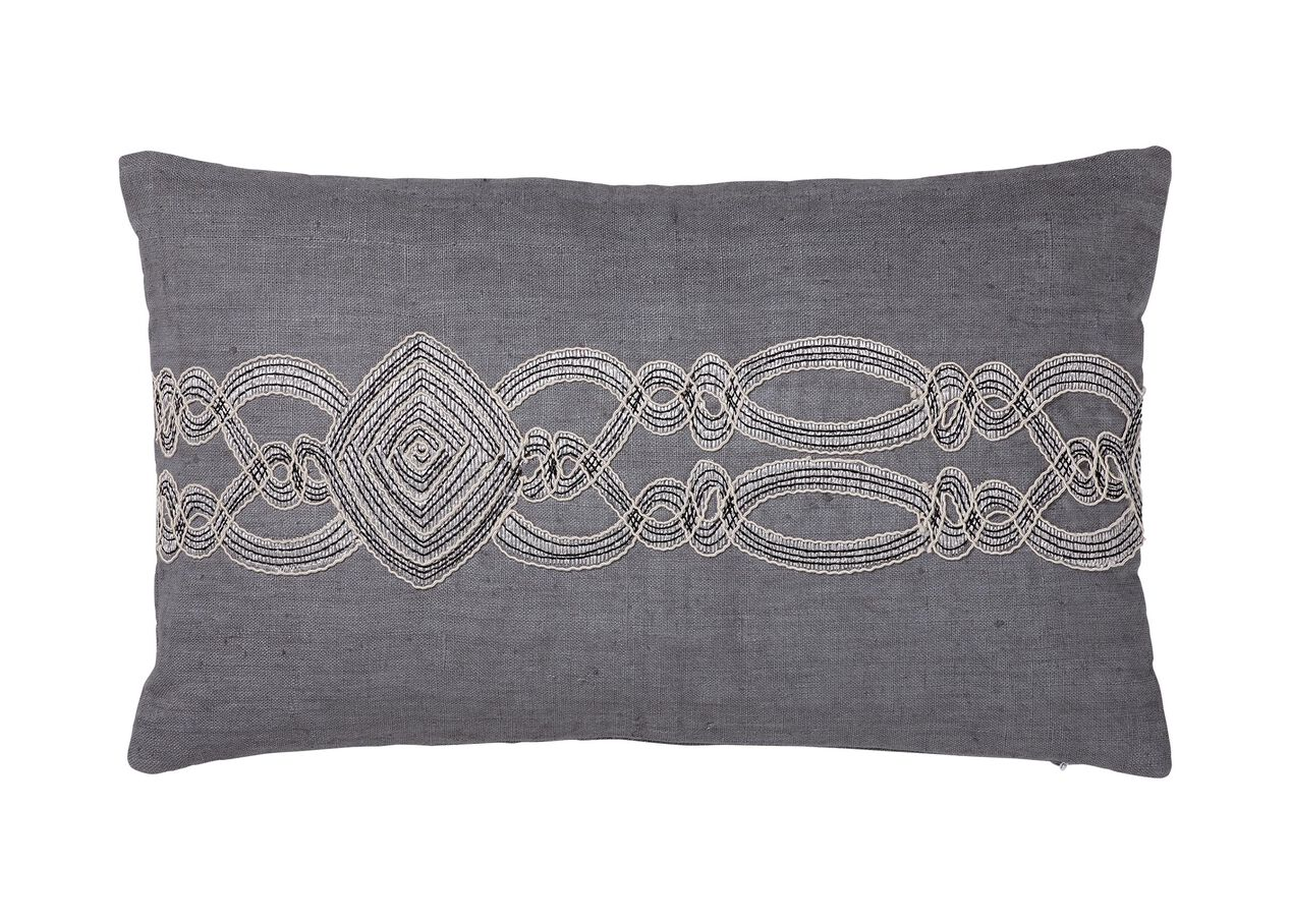 Embellished Rectangular Pillow Pillows