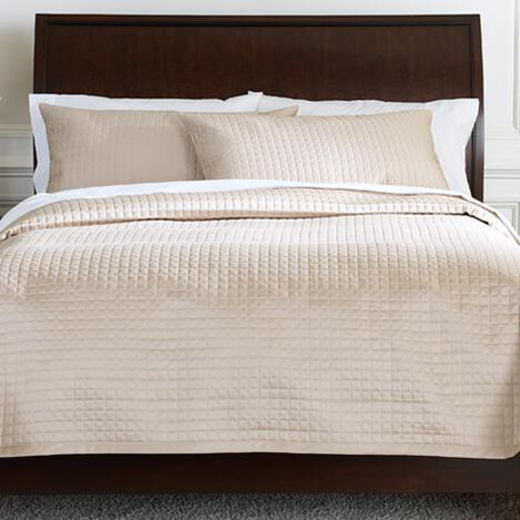Flax Morgan Coverlet and Shams ,  , large