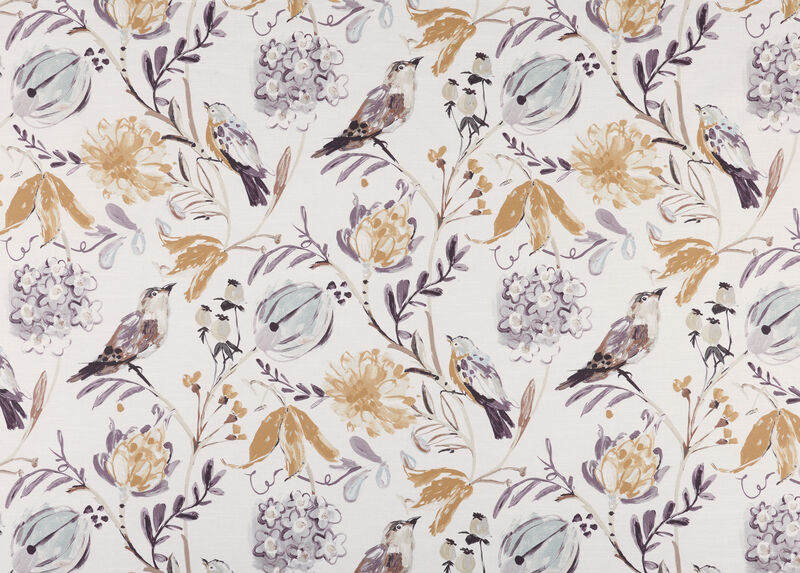 Catrine Amethyst Fabric By the Yard ,  , large_gray