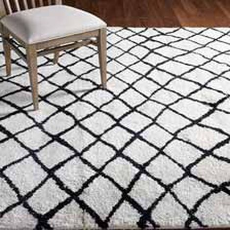 Coaxial Rug, Ivory/Black ,  , hover_image