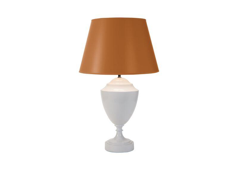 Dalinda Table Lamp, Tangerine