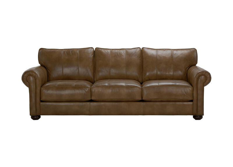Richmond leather sofa sofas loveseats ethan allen Living room furniture richmond va