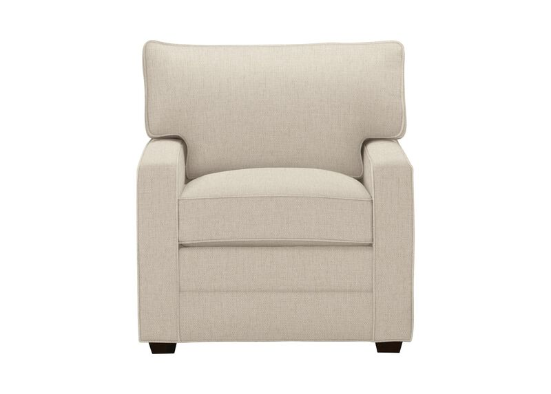 Bennett Track-Arm Chair, Quick Ship