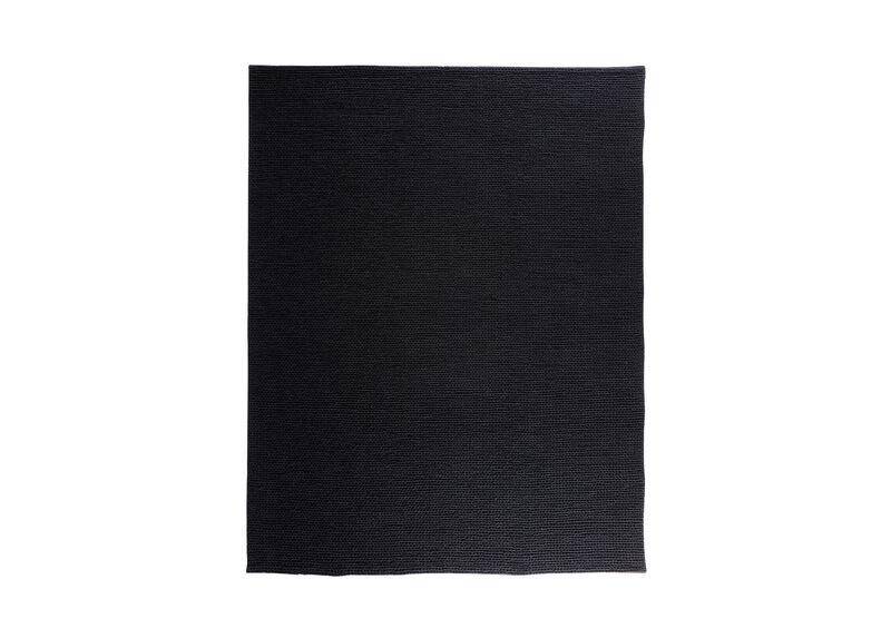 Braided Choti Rug, Black