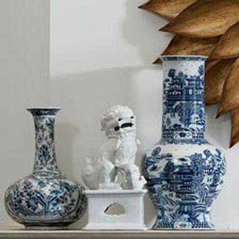 Blue and White Gourd Vase ,  , hover_image