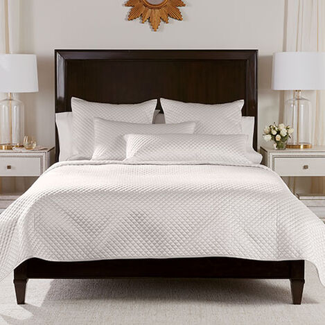 Salena Quilted Coverlet and Shams, Pearl Product Tile Image SalenaQuiltPearl