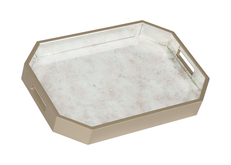 Zaria Mirrored Tray