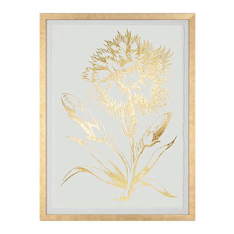 Gold Foil Floral II Product Tile Image 073759B