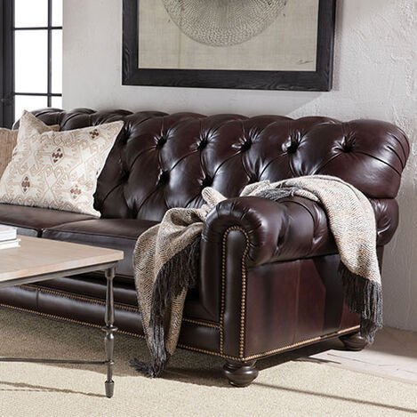 Chadwick Leather Sofa Product Tile Hover Image chadwicklth