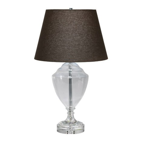 Glass Trophy Table Lamp ,  , large