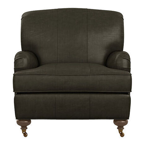 """Oxford Leather Chair, 25"""" depth Product Tile Image 722276"""