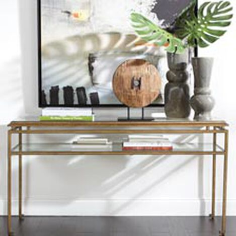 console table. Large Beacon Console Table , Hover_image